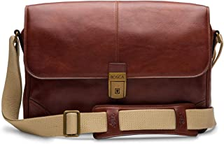 Bosca Men's Dolce Messenger Bag Dark Brown One Size