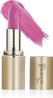 Bonjour Paris Premium Shine Lipstick, Light Plum Shine, 4.2g