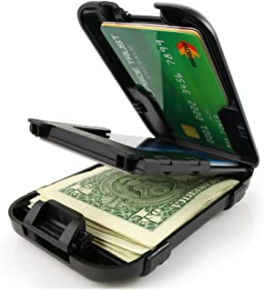 Flipside Wallets Flipside 4 RFID Blocking Wallet for Men with Removable Money Clip - Slim, Secure and Crush Resistant