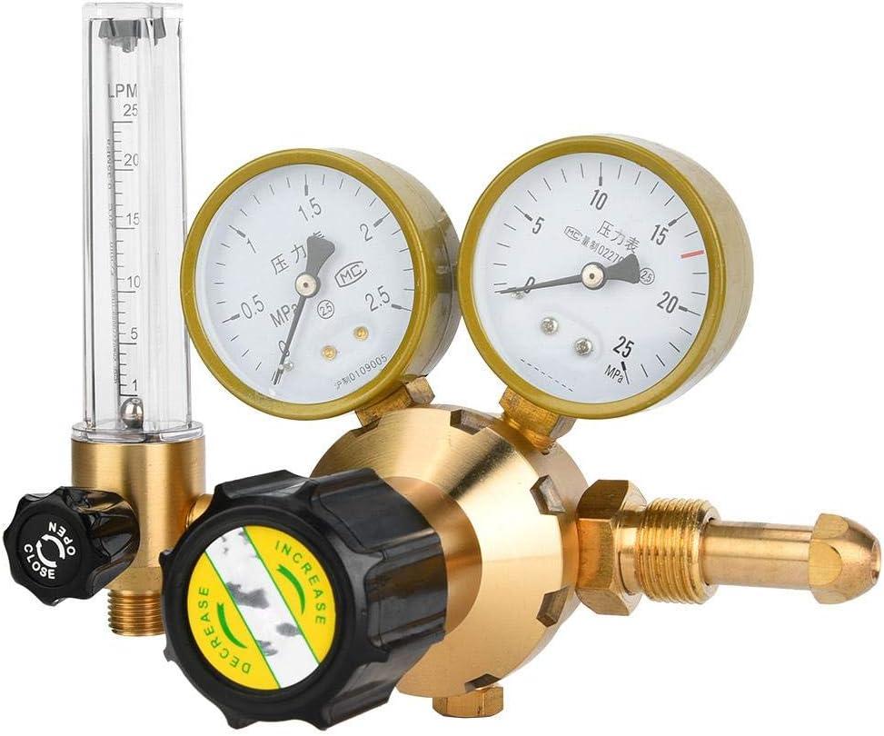 Oumefar Reductor de presión de Gas para Soldadura de Alta ...