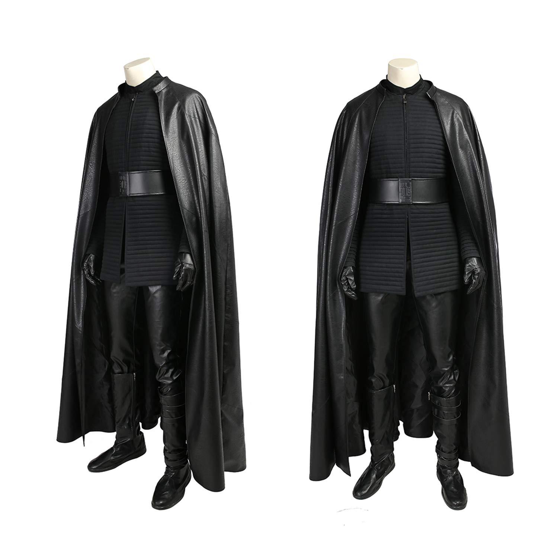 QWEASZER Star Wars 8 The Last Jedi Kylo REN Disfraz Adulto Hombre ...