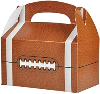 Novelty Treasures Football Treat Box Set of 12 Birthday Party Goody Bag Alternative