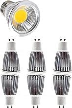 GU10 LED Light Bulbs, Dimmable Spot Light 9W 110V~220V, Corn Small Daylight Bulb Aluminum Shell, for Indoor Lighting, 7Pc,...