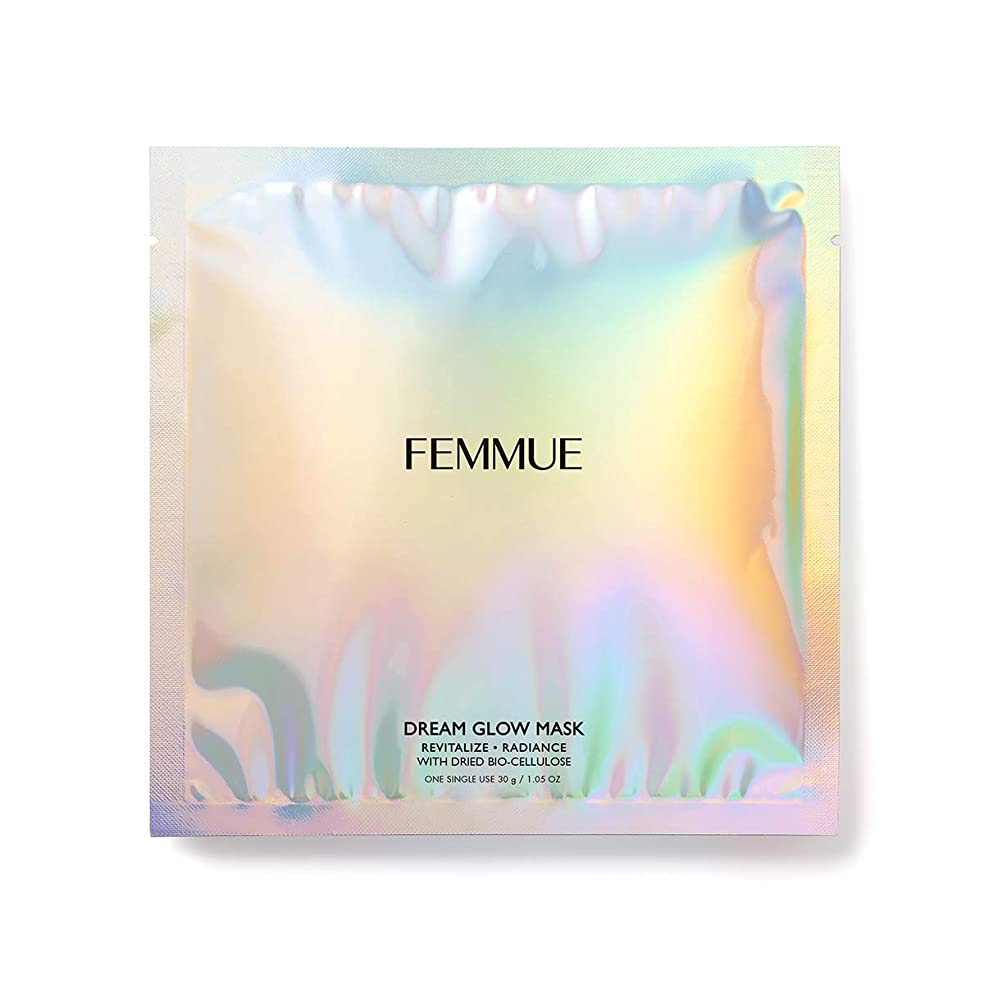 FEMMUE(ファミュ) ドリームグロウマスクRR[透明感*?キメ]30mL×6枚入