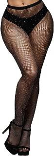 Rhinestone Fishnets Fishnet Stockings Festival Glitter Tights Sparkle Rave Fishnet Tights for Women
