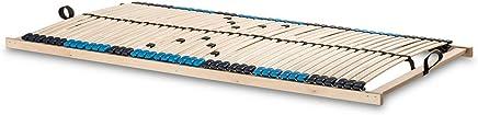 42 stabile Federholzleisten mit durchgehenden Holmen Gr/ö/ße 70x200 SUPERFLEX NV-MZV 7-Zonen-Montagerost