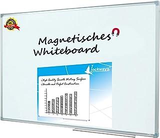 Lockways Magnetic Dry Erase Board – Magnetic Whiteboard/White Board 36 x 24 Inch, 1..