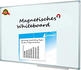 Lockways Magnetic Dry Erase Board – Magnetic Whiteboard/White Board 36 x 24 Inch, 1..