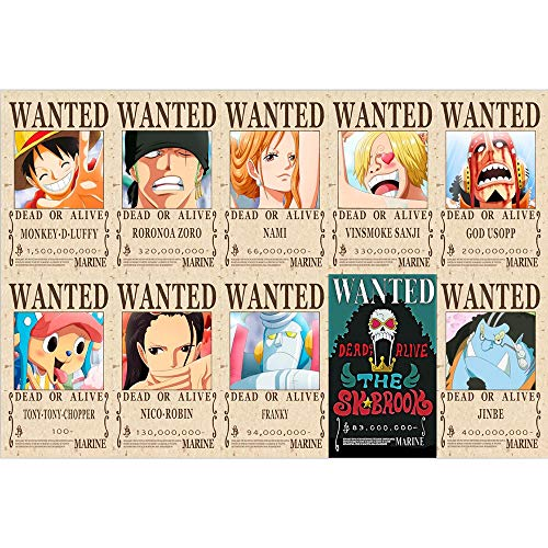 One Piece Puzzle 1000 Stück Holz Erwachsene Kinder Familie Educational Puzzle Anime Cartoon Wohnung Picture Puzzle A