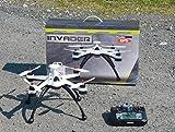 Multicopter drone invader mT1235 goHome et gPS