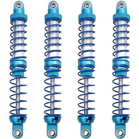 8 unidades Upgrade Parts Muelles para 1//10 SCX10 RC Crawlers Car 120 mm 120 mm