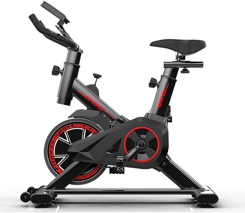Indoor Training Exercise Bike, Professional Spinning Exercise Bike Exercise Bike, Gym Use Belt Transmission with Flywheel, Maximum Silence, Adjustable Handlebar and Seat