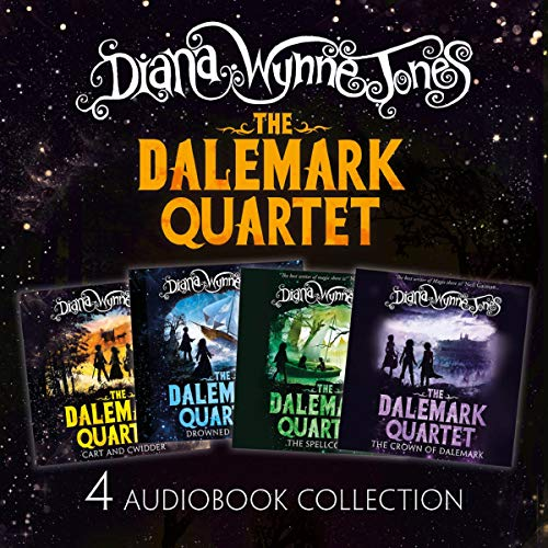The Dalemark Quartet Audio Collection: Cart and Cwidder, Drowned Ammet, The Spellcoats, The Crown of Dalemark