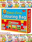 Baby's First Colouring Bag (Pre-School Books) | Gift Bag For Kids Set of