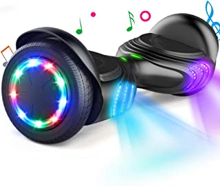TOMOLOO Hoverboard with LED Lights Two-Wheel Self Balancing Scooter with UL2272 Certified, 6.5