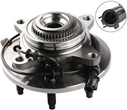MOSTPLUS Wheel Bearing Hub Front Wheel Hub and Bearing Assembly 515079 for F-150 Heritage Expedition w/ABS 4WD 4x4 6 Lug