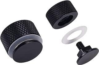 Newace Welding Helmet Pipeliner Headgear Replacement Parts Accessories for 3 M Screws Flip Hood Fasteners Aluminum (Black)
