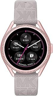 Michael Kors Damen Gen 5E MKGO Touchscreen Smartwatch mit Lautsprecher, Herzfrequenz, GPS, NFC und Smartphone Benachrichti...