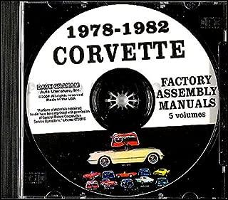 Best 1978 corvette shop manual Reviews