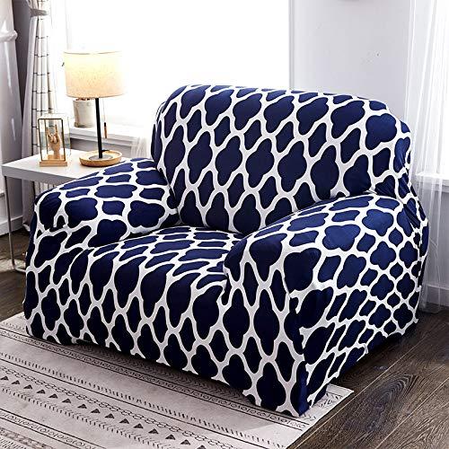 WXQY Funda Protectora de sofá elástica Simple combinación Antideslizante Funda Protectora de sofá Todo Incluido Funda Protectora de sofá de Esquina en Forma de L A2 4 plazas
