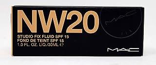 MAC Studio Fix Fluid SPF 15 Face Foundation - NW20, 30 ml
