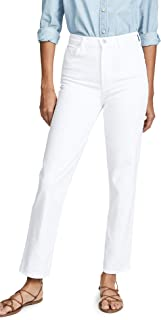 J Brand Women's Jules High Rise Straight Jeans