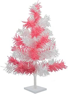 Best white christmas tree with pink and blue decorations Reviews
