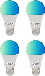 SYLVANIA Wifi LED Smart Light Bulb, 60W Dimmable Full...