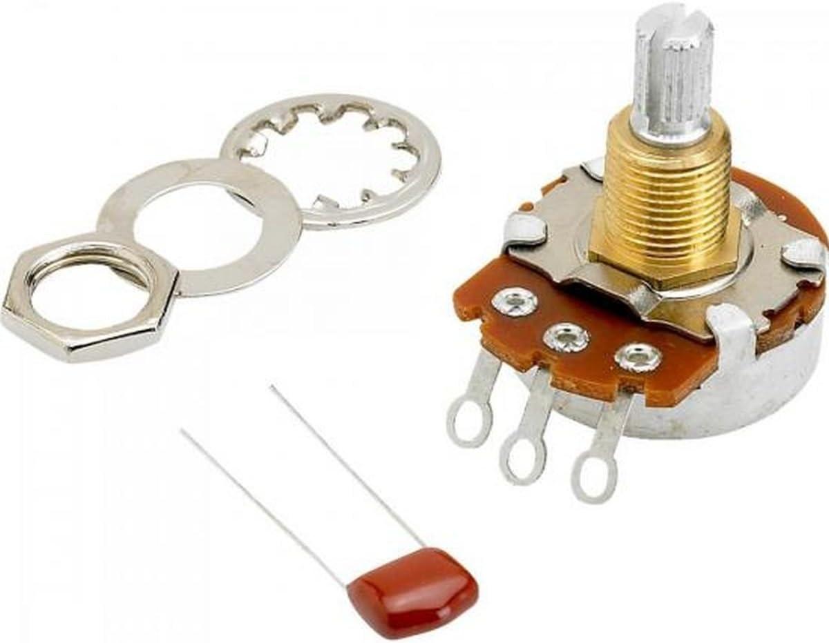 Fender outlet 500K Split Shaft Potentiometer for Tone Max 53% OFF or Volume