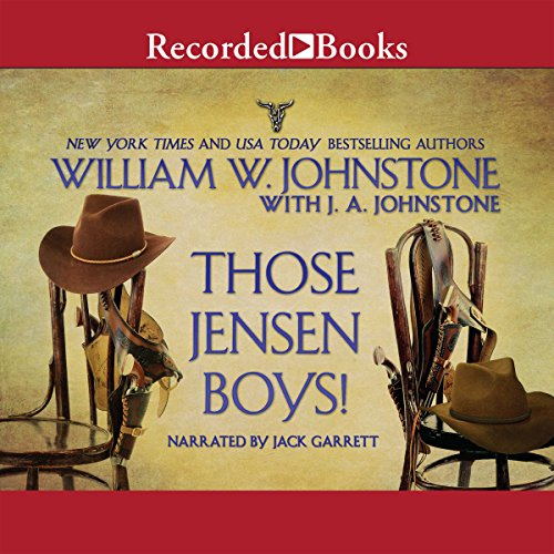 Those Jensen Boys! audiobook cover art