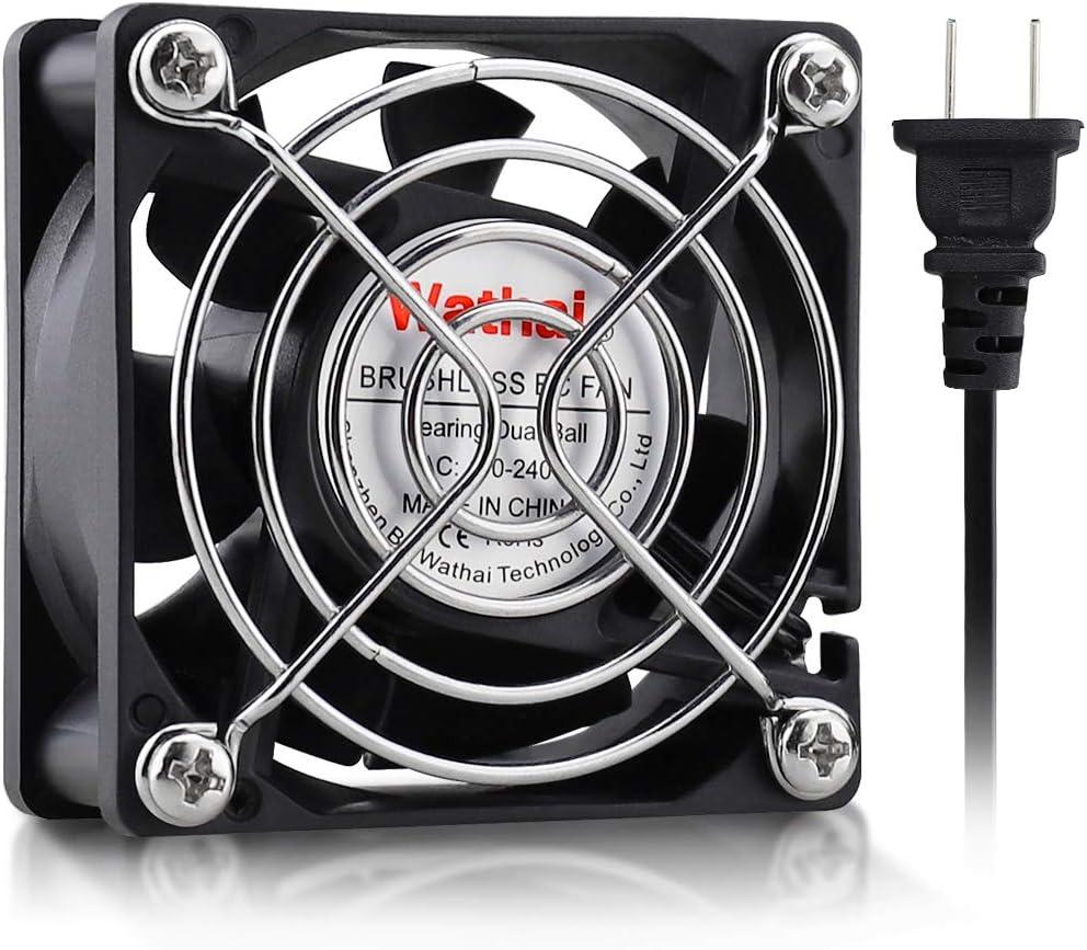 Wathai EC Brushless Cooling Fan AC 110V 115V 120V 220V 240V Axial Fan Ball Bearing 60mm x 25mm