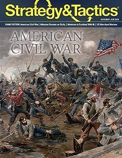 DG: Strategy & Tactics Magazine #310, with American Civil War Boardgame