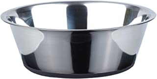 Peggy 11 No Spill Non-Skid Stainless Steel Deep Dog Bowls 50 Oz (6 Cups)