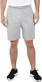 (X-Large, Heather Grey) - Fruit of the Loom Men's Jersey Short