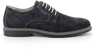 Luxury Fashion | Igi & Co Men 5101322BLU Blue Leather Lace-up Shoes | Spring-summer 20