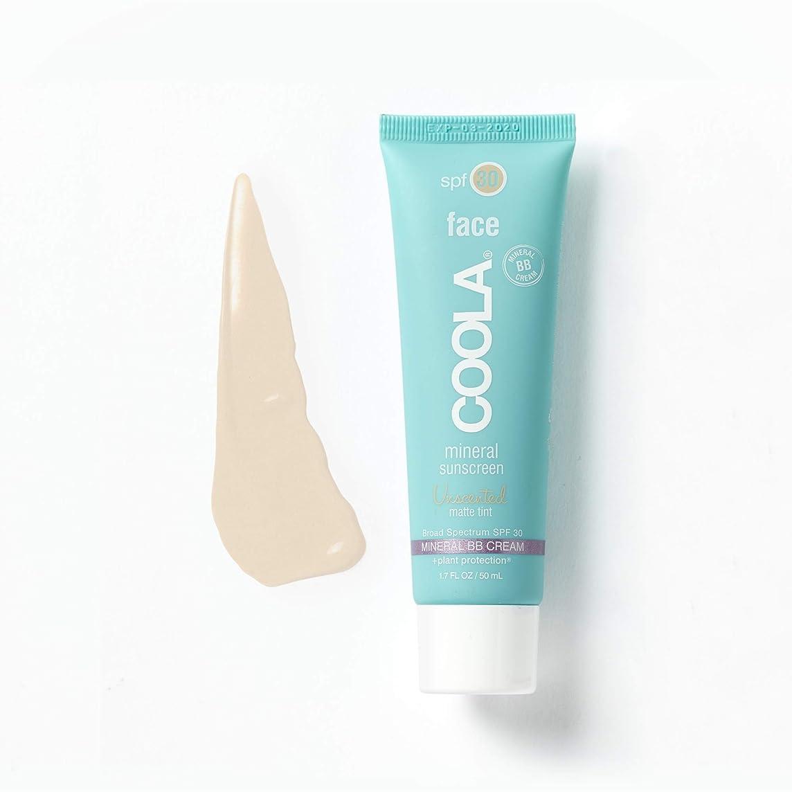 化石起こるヒロインCoola Face Spf 30 Mineral Sunscreen Unscented Matte Tint (並行輸入品)