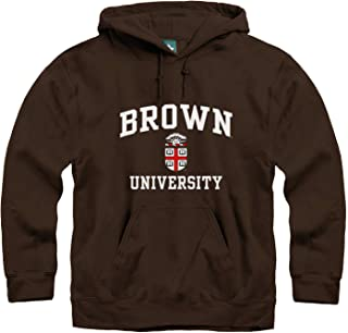 Hoodie Sweatshirt, Premium Cotton, Classic Arch with University Crest Logo