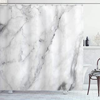 Best grey marble shower curtain Reviews