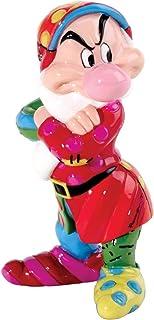 Enesco Disney by Britto Grumpy Mini Figurine, 3-Inch/ロメロブリット/ディズニー/白雪姫/グランピー(おこりんぼ)/フィギュア/並行輸入品