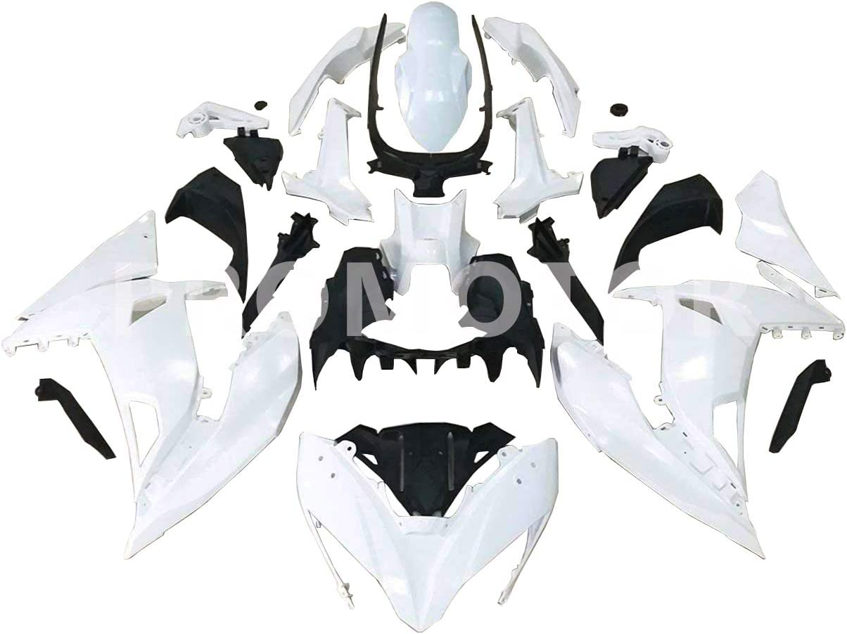 ZXMT Motorcycle Fairing Kit Unpainted Kaw Bodywork for Injection Max 76% OFF Superior