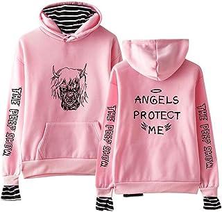 876e233284f8b Lil Peep Automne Mode Couleur Hoodies Vêtements pour Hommes Sweats Hommes  Hip Hop Streetwear Polaire Pull