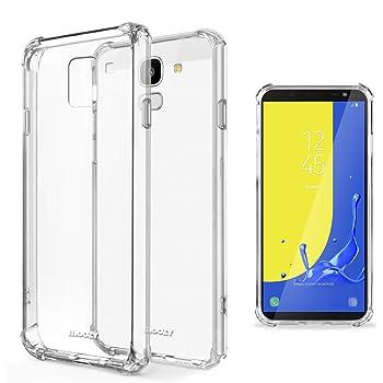 Moozy Funda Silicona Antigolpes para Samsung J6, Galaxy J6 2018 ...