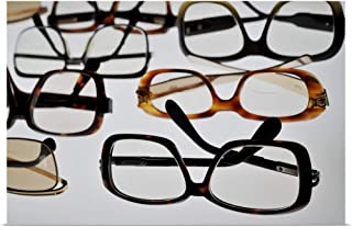 GREATBIGCANVAS Poster Print Eyeglasses from 1960's and 1970's by 18
