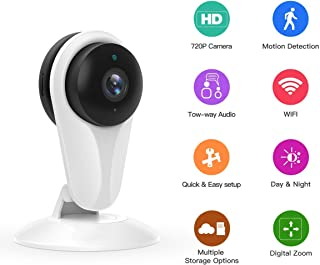 [Newest] WiFi Camera, Nextrend Wireless IP Security Camera with Motion Detection,Night Vision,Two-Way Audio,Cloud Storage, Home Camera for Office/Baby/Nanny/Pet Monitor