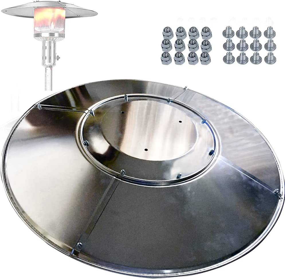 Patio Heat Reflector Shield Replacement Year-end annual account Our shop OFFers the best service Heate Gas Propane