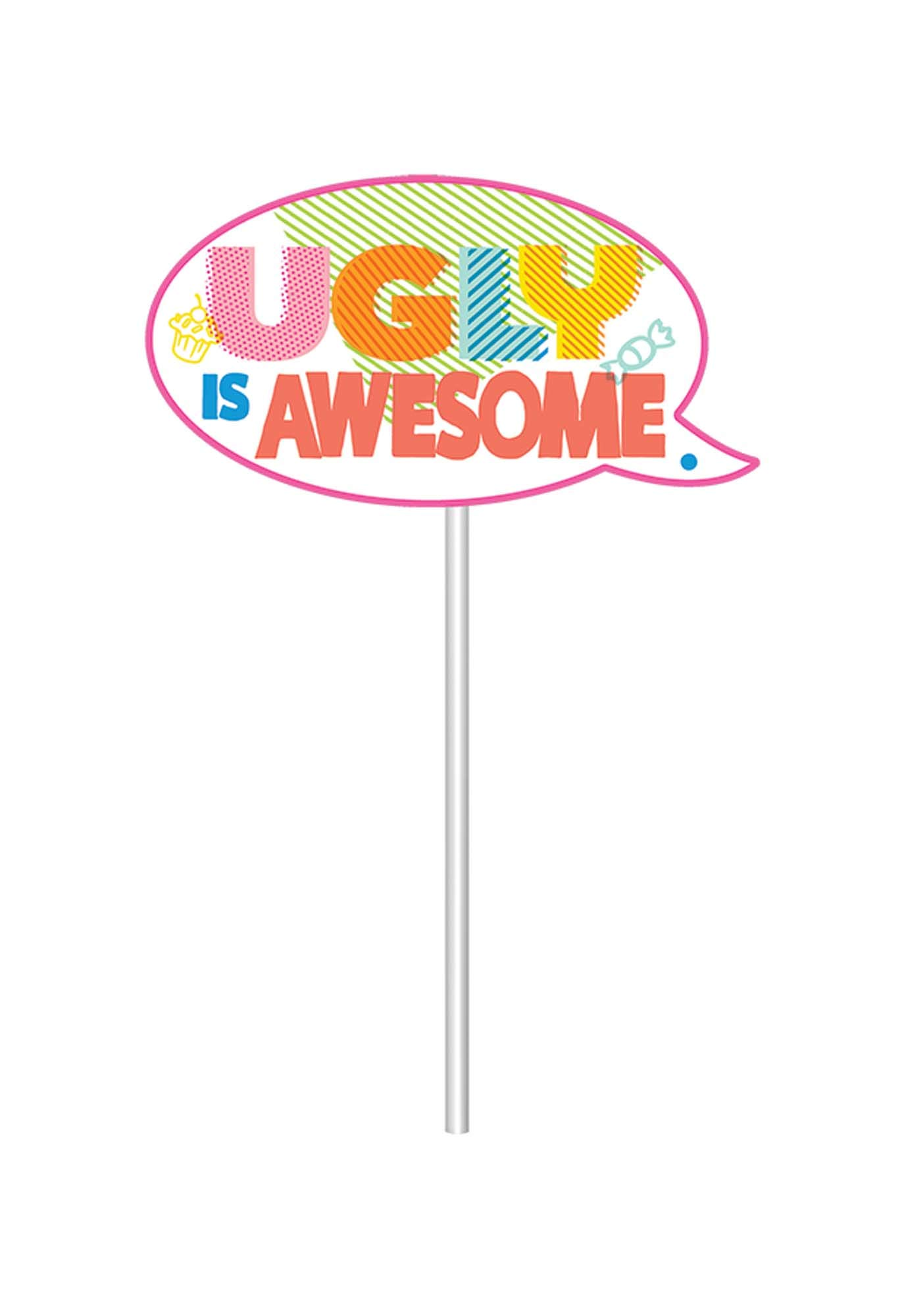 16 Pc. UglyDolls Movie Party Scene Setters w//Photo Props