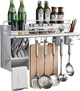 YJKDM Support à épices Multifonctionnel, Support de Rangement pour ustensiles de Cuisine Multifonctionnel Domestique, pour...