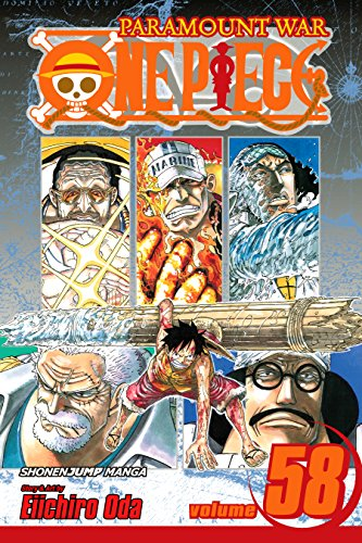 """One Piece, Vol. 58: The Name of This Era Is """"Whitebeard"""" (One Piece Graphic Novel) (English Edition)"""