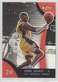 Kobe Bryant (Basketball Card) 2007-08 Topps Finest - [Base] - Refractor #24