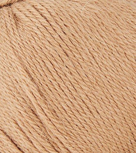 Pure · lana alpaca Yoda Brown serie 40 g 110 m 10 pezzi impostati